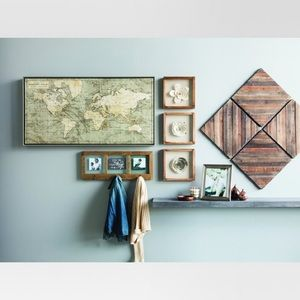 Wood Decorative Panels set of 4 - Threshold